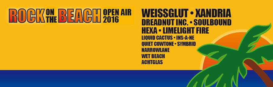 Rock on the Beach Open Air 2016 - Vorbericht